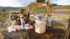 河川工事 大型土のう